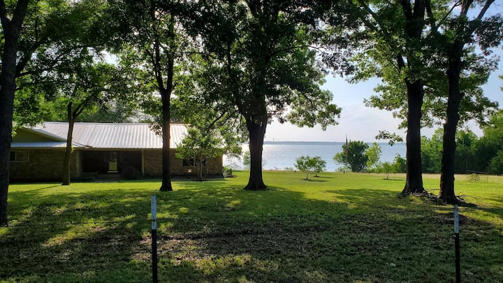 Paradise on the Lake with 2 acres of Lake Frontage