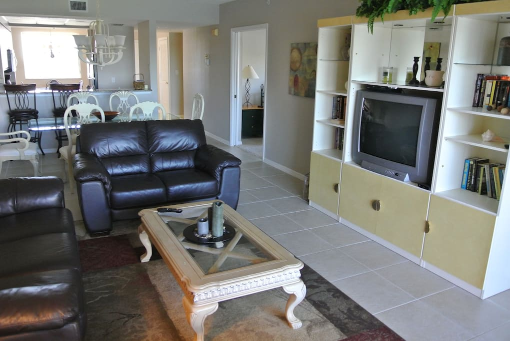 Family Room and Dinning area