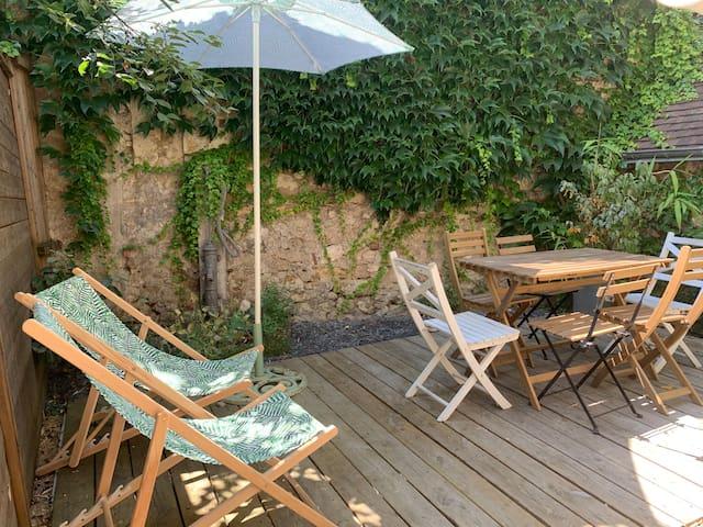 Entre châteaux et vignobles, au bord de la Loire