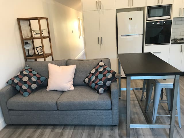 Granny flat with quality furnishings and patio