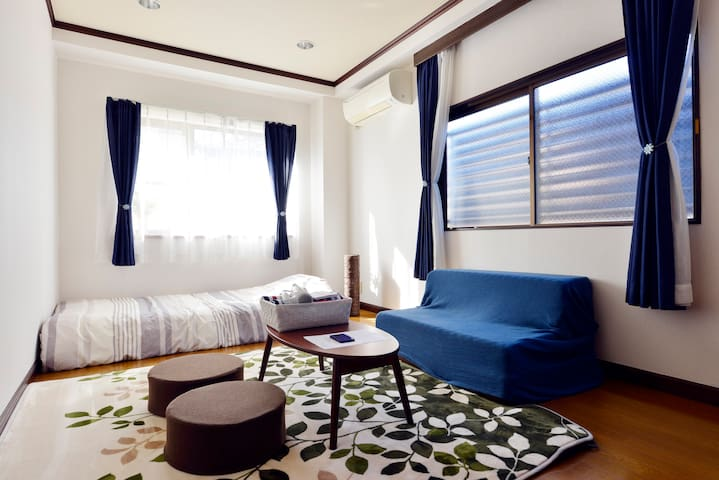 Cozy & Near Ueno Park! 3 min from subway Sta. #201 - Bunkyō-ku - Appartement