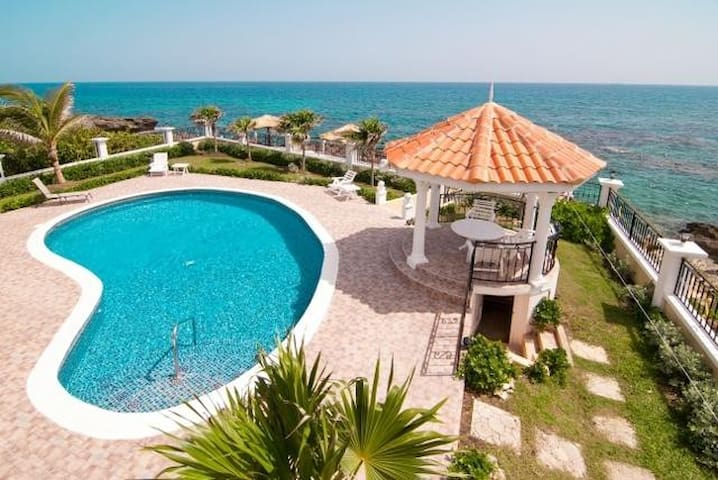 Oceanfront King Bedroom #5 in a villa with pool