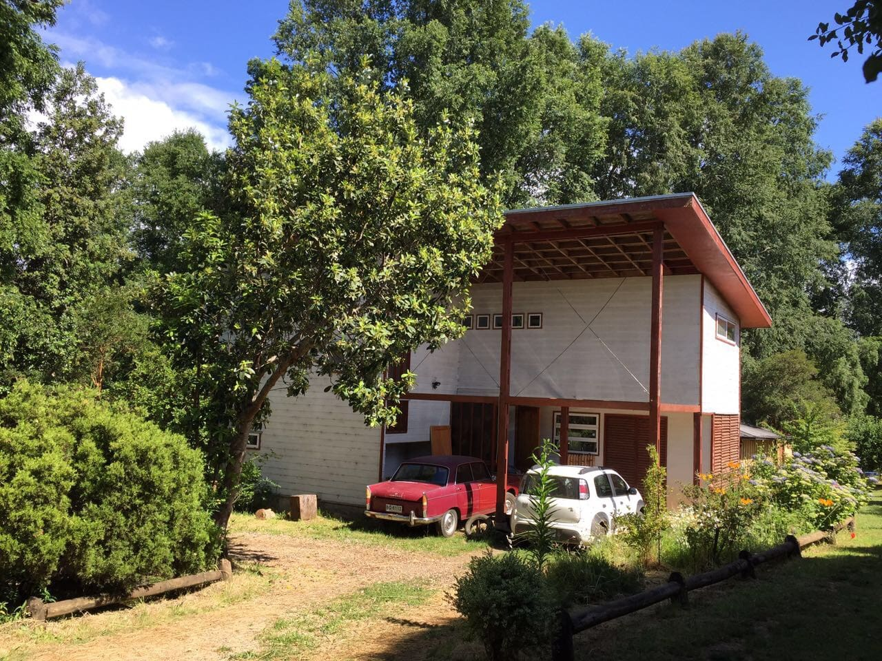 Casa completa entrada de Garage