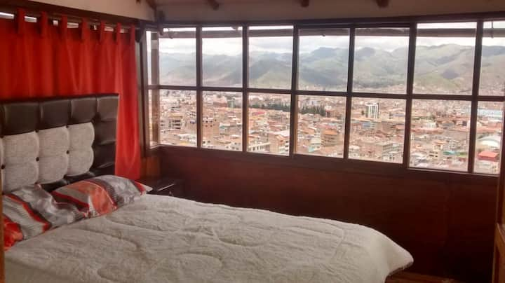 Cusco Bed & Breakfast Doble Room + Terraza Qanchis