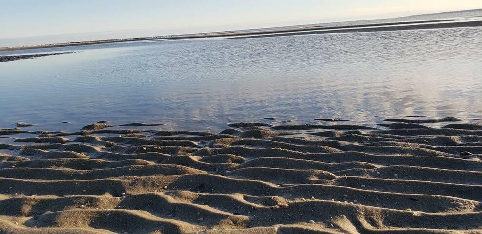 Enjoy the beach just a 10 minute drive away