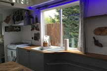 Kitchen (with LED colored lights on)