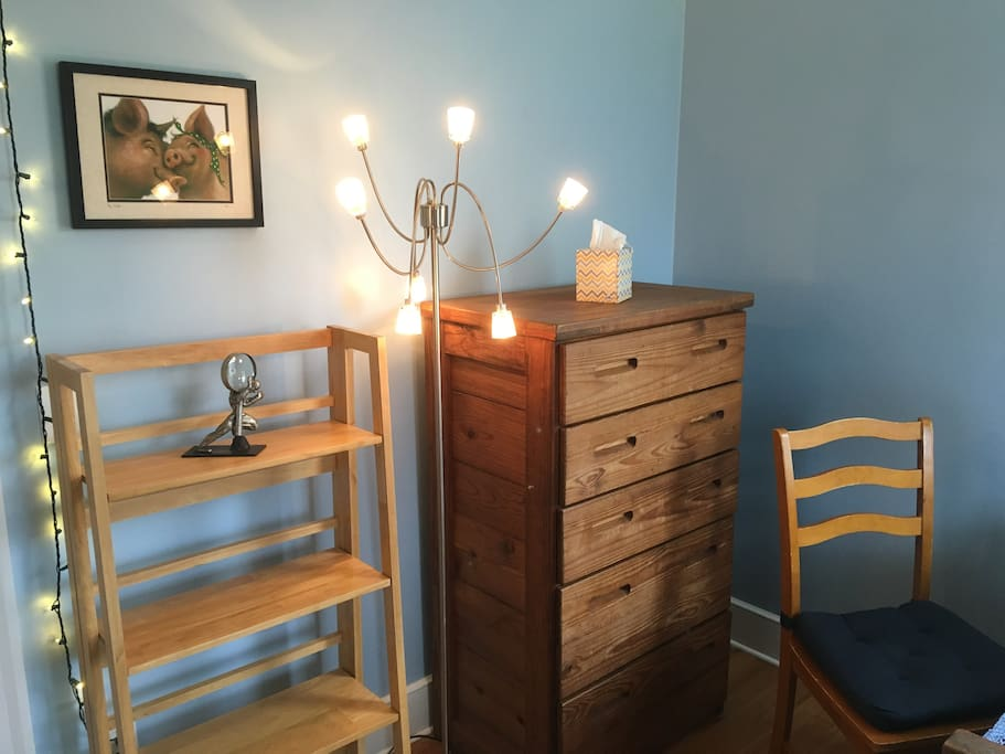 Dresser with lots of space.