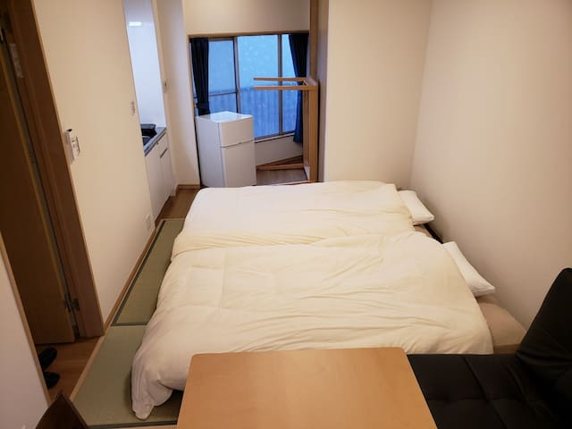 Ohanajaya Studio Apartment #Max4ppl, Free Wifi!#
