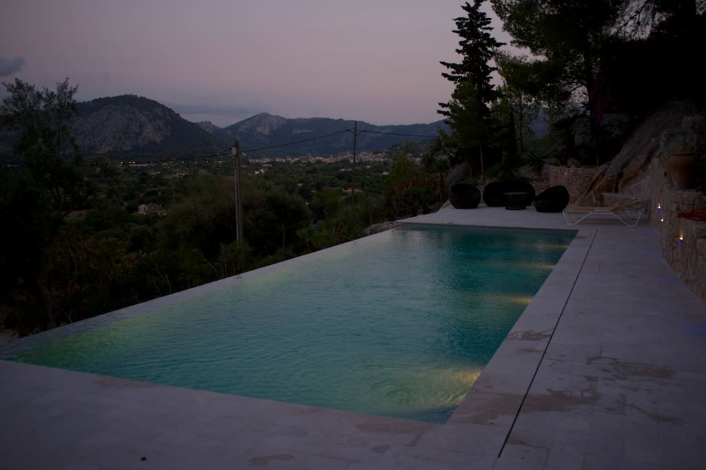 ..the pool by night
