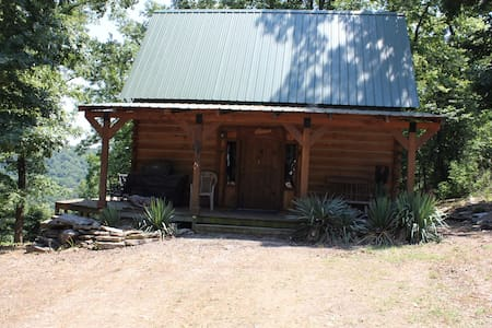 Hand built rustic cabin in Holiday Island