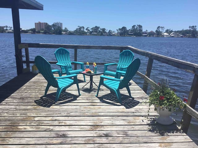 Panama City Beach / waterfront house/ private dock