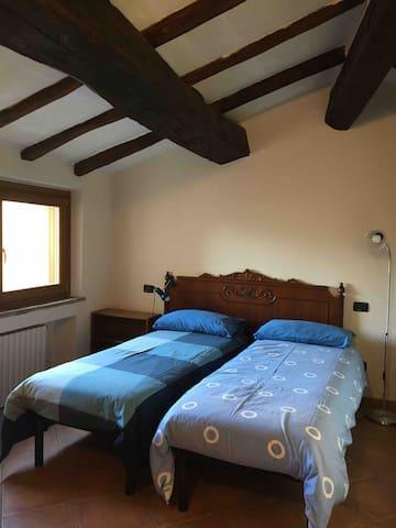 In camera possono essere due letti singoli