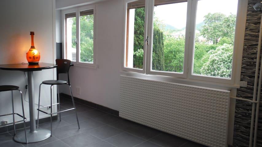 studio neuf avec déco comptemporaine parking - Clermont-Ferrand - Apartment