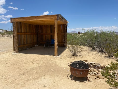 Sheltered camping in the Terlingua Ghost Town, #3