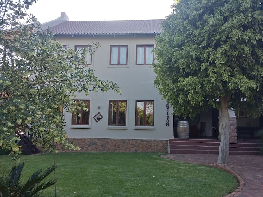 Outside view of our restaurant and conference centre.