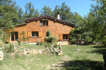 Maison écologique en bois de 100m2 - Bugarach - Lerhydda