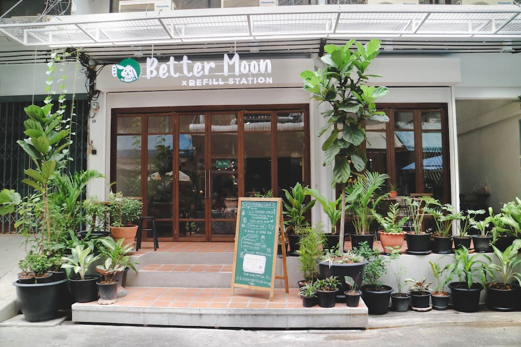 We located at Better Moon cafe at Sukhumvit77/1