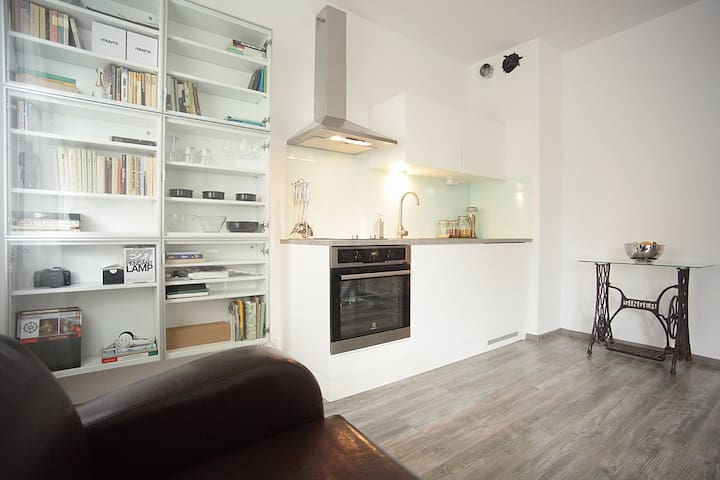 Cozy modern studio /34 m2 - Krakov - Daire