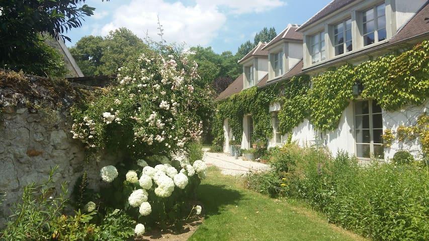 Proche Paris,  Bed & Breakfast avec vue sur jardin