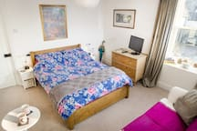 Double Bed in light airy room