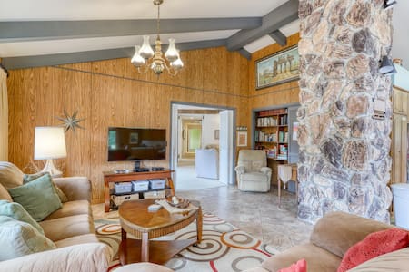 Set on a hilltop surrounded by Redwood National Park w/ views of the Pacific!