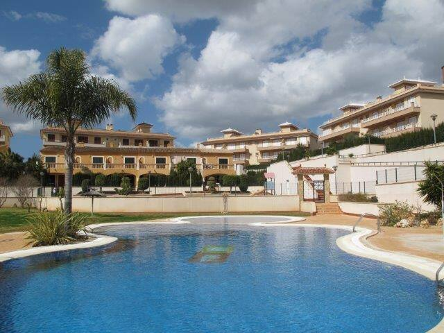 Luxury 2 bed apartment with pool - Cala Murada - Daire
