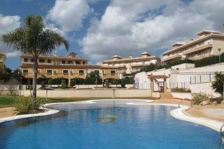 Luxury 2 bed apartment with pool - Cala Murada