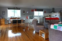 1 Large room for dining, kitchen & lounge area so the cook can still be part of the action.