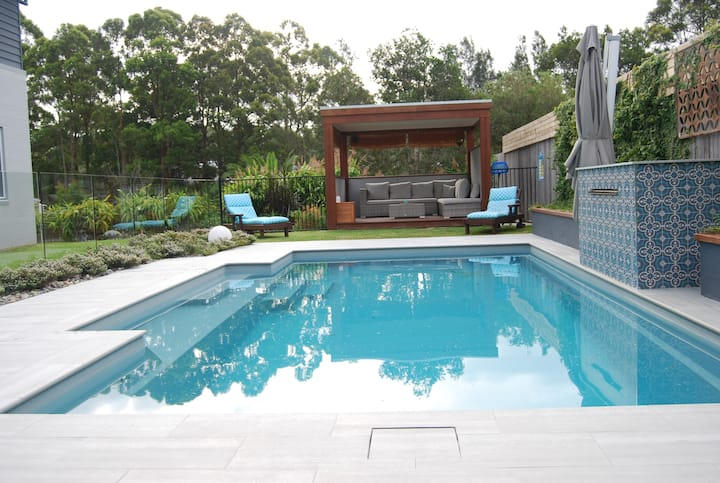 Luxury poolside living close to beaches and lakes