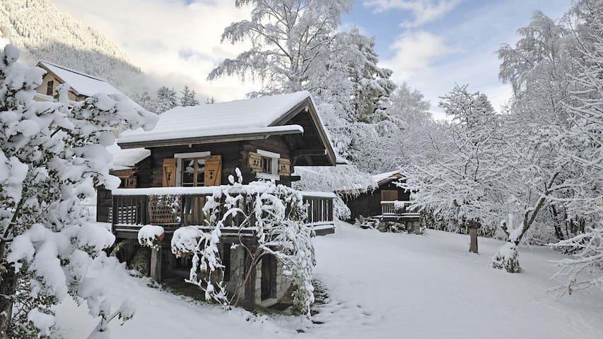 Stephen's mazot in Chamonix - Chamonix-Mont-Blanc - Chalet