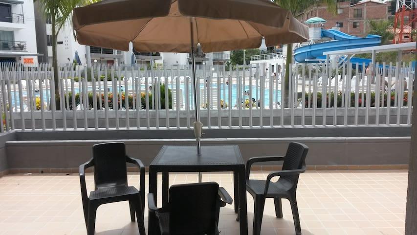 Apartasol con piscinas en Santafe De Antioquia - Santa Fe de Antioquia - อพาร์ทเมนท์