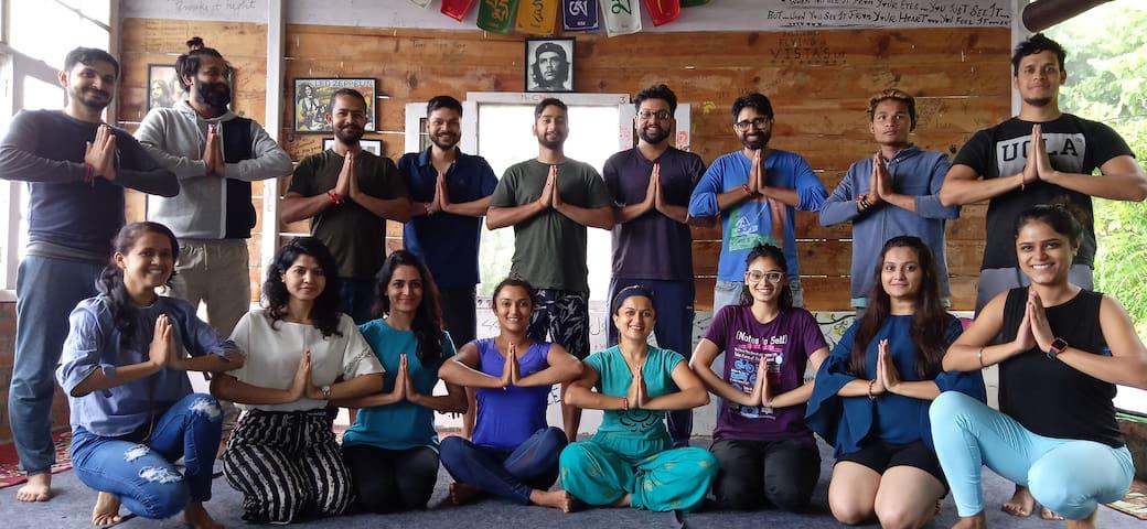 Experience Om (Stone-Mudhouses in Nainital Woods)