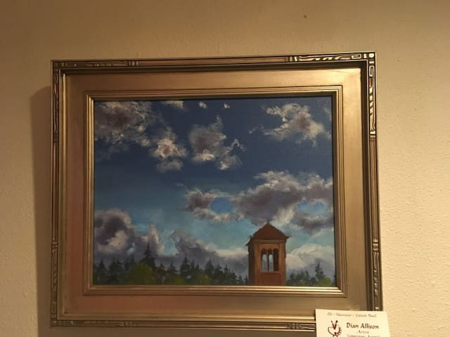 South Hill Sky, oils  $100