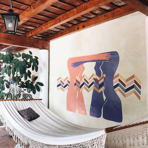Casa de Stela - Suite Verde - แอนติกา กัวเตมาลา - บ้าน