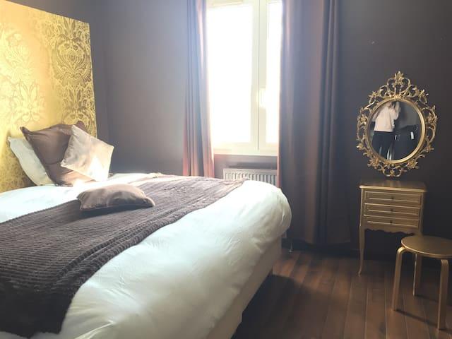 Jolie chambre avec lit king size - Grézieu-la-Varenne - Apartament