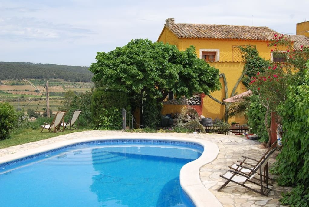 Comfortable en suite rooms in penedes wine region for Chambre d hotes champagne region