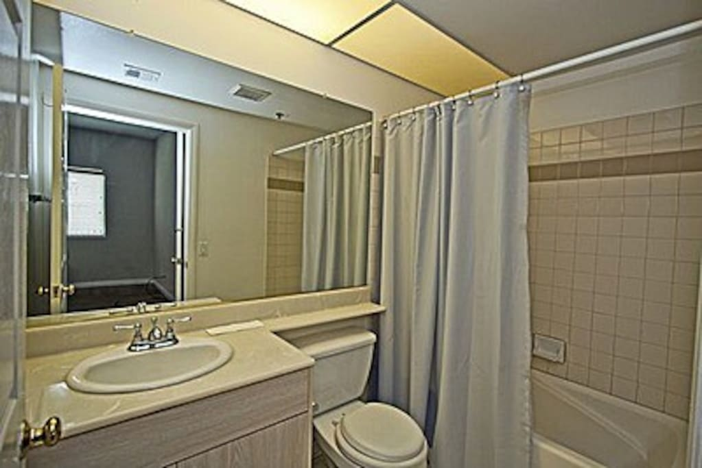 Your own totally private en suite bathroom.