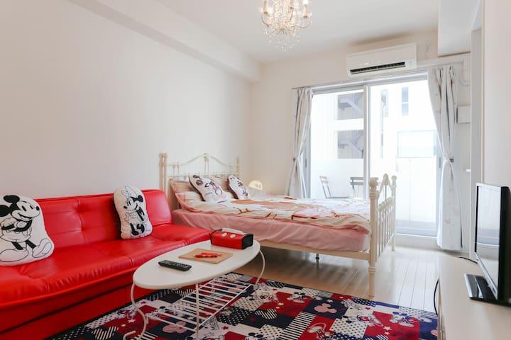 Pretty room☆Near Namba, Nipponbashi - Ōsaka-shi - Apartment