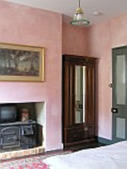 Furnished with antiques and collectables
