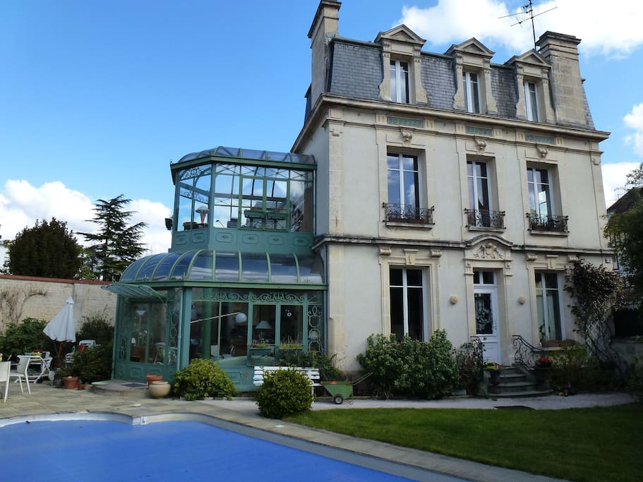 Grande maison bourgeoise houses for rent in caen basse normandie france - Maison jardin century furniture caen ...