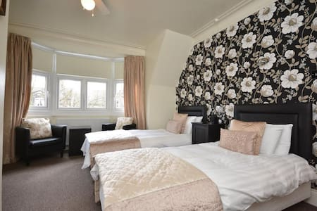 Twin or SuperKing Room in Guest House - Harrogate