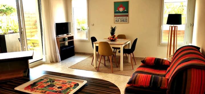 Appartement 4 pers à la Pironnière 2 vélos inclus
