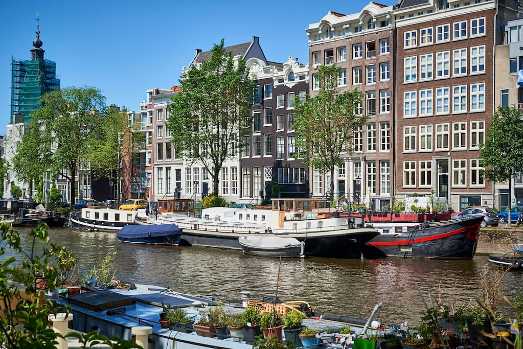 Luxurious 3br 110m houseboat in amsterdam centre for Airbnb amsterdam