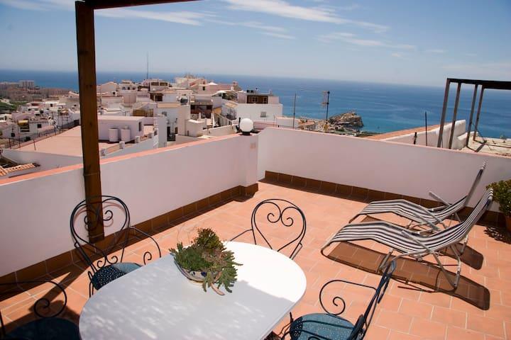Centro historico.Vistas al mar WIFI - Salobreña - Casa
