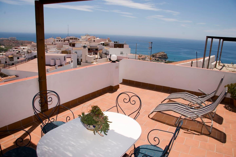 terraza y vistas
