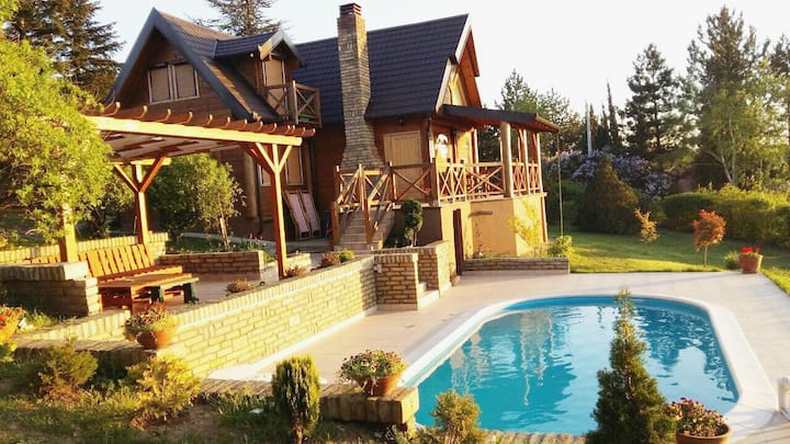 Fruska Gora - family house with spectacular view
