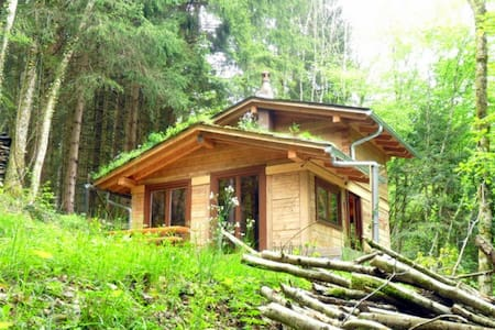 Romantic log house