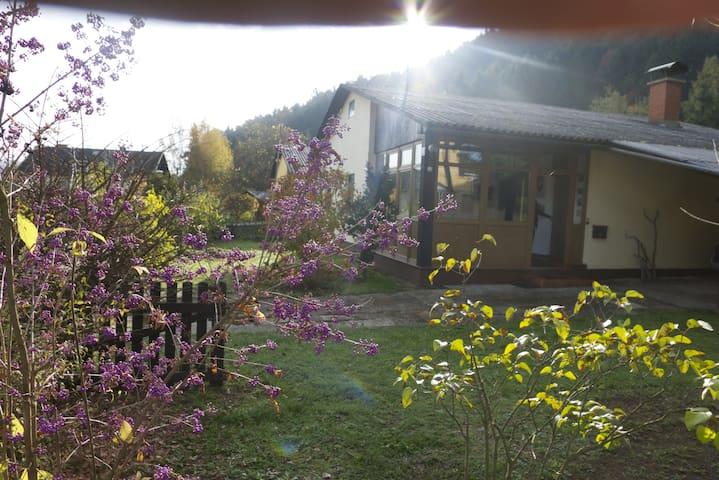 Mooi vrijstaand huis met grote tuin - Unterburg am Klopeiner See - House