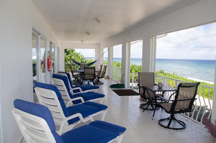 Brac Beach House Oceanfront Home! Stunning Views!