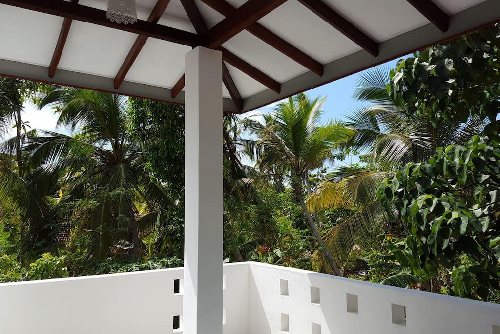 Terrasse - Zimmer 2